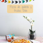 Pizza de galleta y frutas Dole