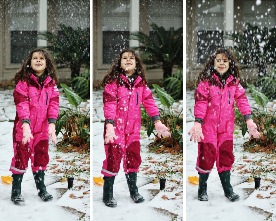 Nieve en Houston | criandoando.com