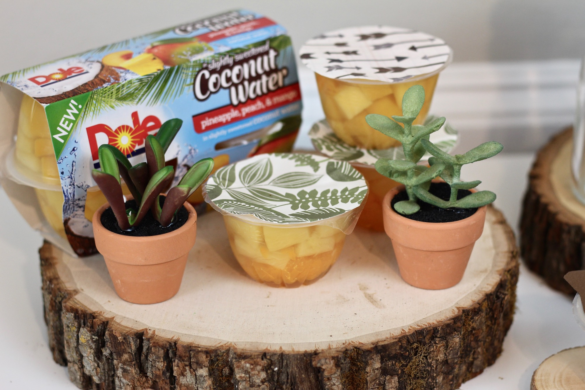 Dole Fruit Bowls decorados
