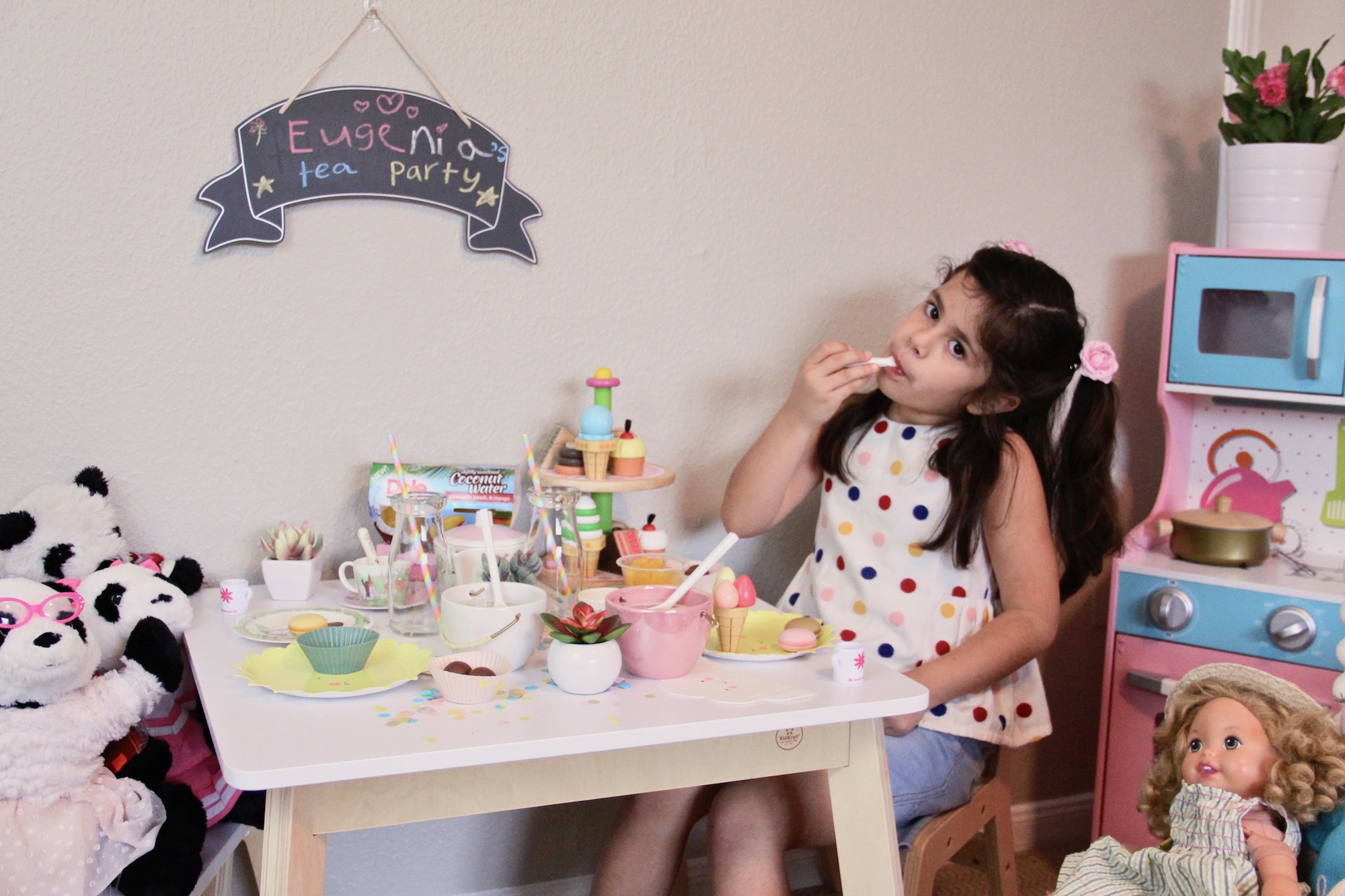 Tea Party con Fruit Bowls Dole