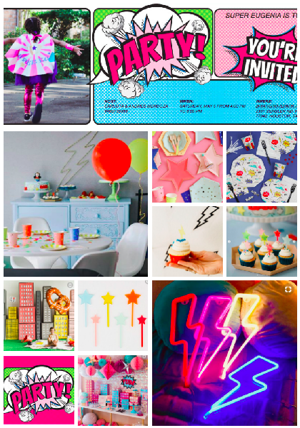 Inspiracion fiesta Super Girls