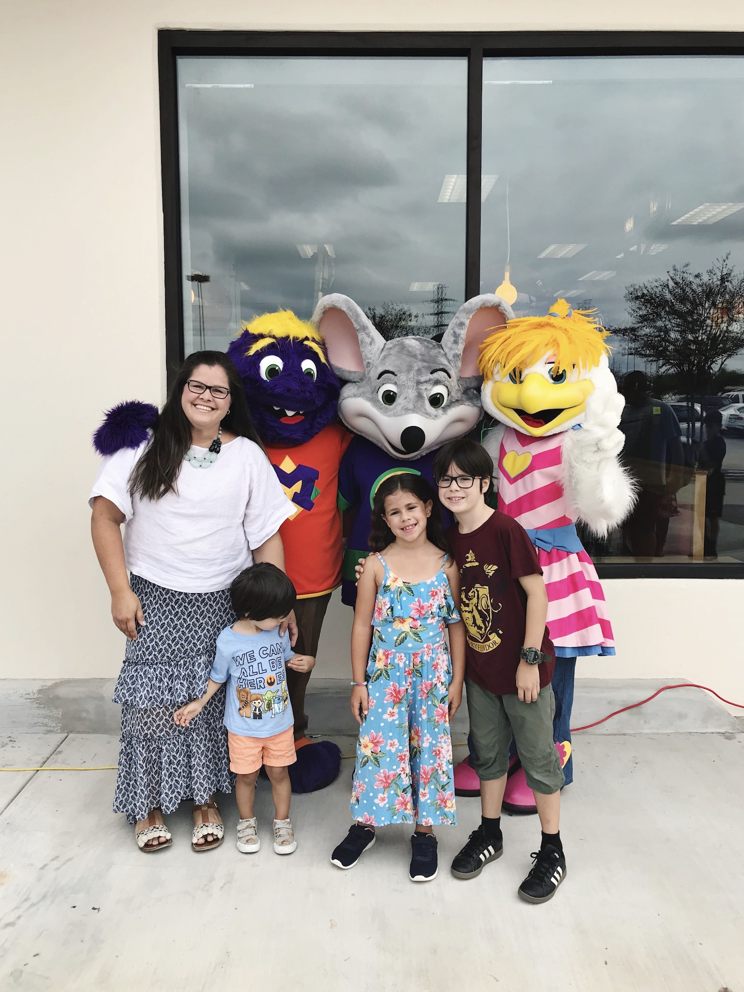 Nuevo Chuck E Cheese Houston