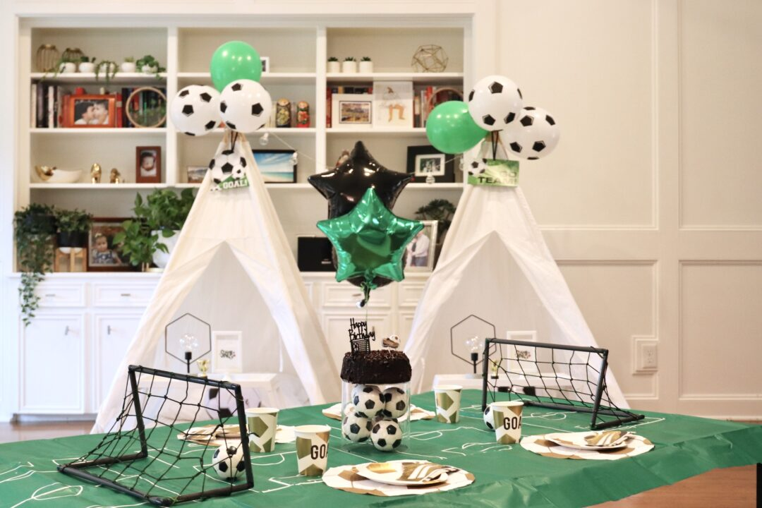 Soccer Tepee Party | HopiTepees Houston